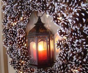 christmas, diy, and christmas wreath image