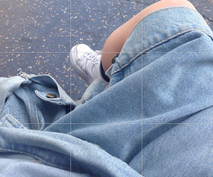 grunge, pale, and blue image