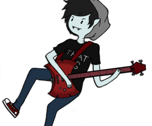 marshall lee, adventure time, and hora de aventura image