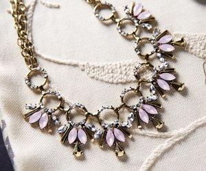 fashion, lovely, and necklace image