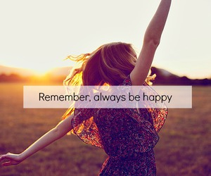 girl, happiness, and quotes image