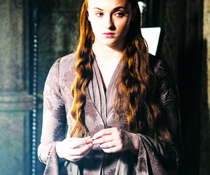 stark, sansa, and game of thrones image