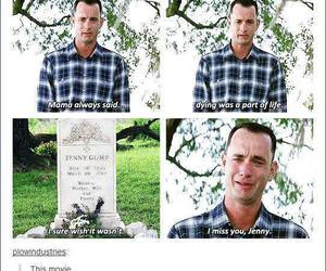 sad, forest gump, and tumblr image