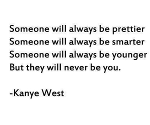 true, yourself, and kanyewest image