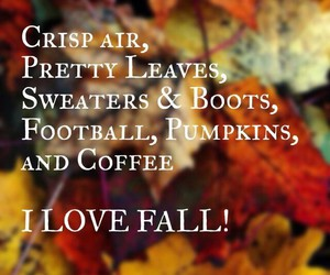 fall, boots, and leaves image