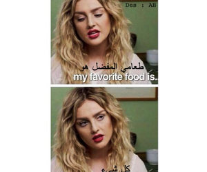 food, perrie edwards, and little mix image