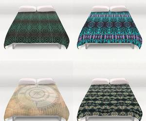 bedding, bedroom, and beds image