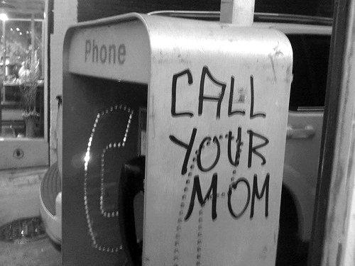 call your mom image