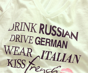 french, kiss, and fashion image