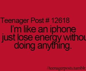 iphone, teenager post, and energy image