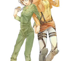 anime and attack on titans image