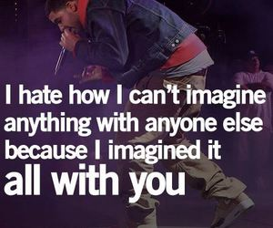 quote, imagine, and Drake image