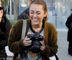 smile and miley cyrus image