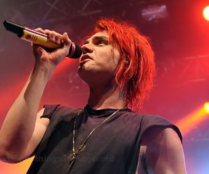 gee, my chemical romance, and red hair image