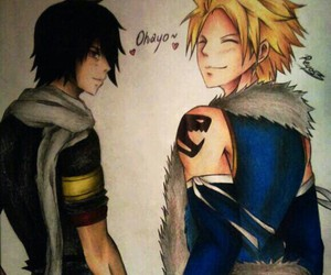 drawing, fairy tail, and sting image