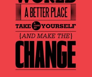 change, michael jackson, and quote image