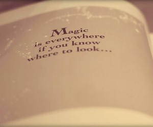 magic, book, and quote image