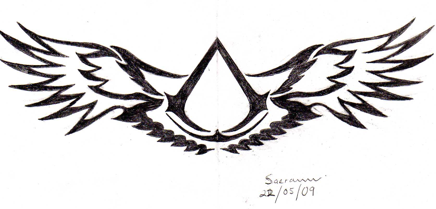 Assassin Creed Logo Tattoo Google Images On We Heart It