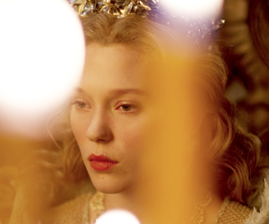 gold and Lea Seydoux image