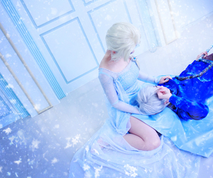 cosplay and frozen image