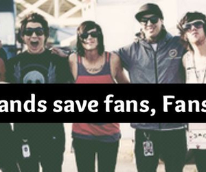 bands, fans, and save image
