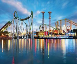 fun, orlando, and Roller Coaster image