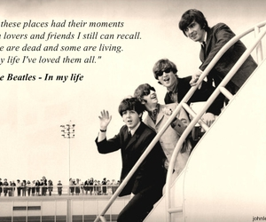 beatles, quote, and song image