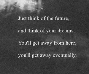 dreams, escape, and future image