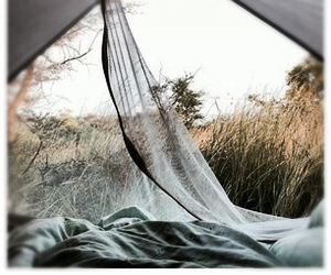 camping, hipster, and nature image