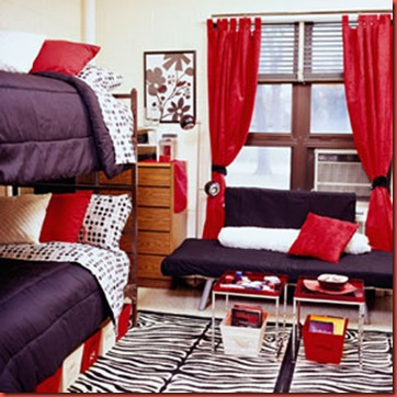 Furniture Ikea Dorm Room The New Design In The Modern Era The Interesting Design Of Ikeas Dorm Room With Red Curatin On Glass Window Also Dark Purple Sofa With Red Square Cuhion