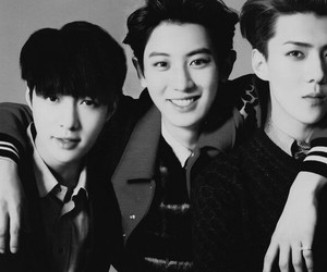 exo, lay, and chanyeol image
