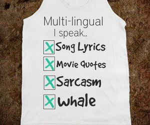 funny, sarcasm, and whale image