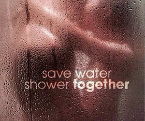 together and shower image