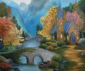 art and Oil Painting image