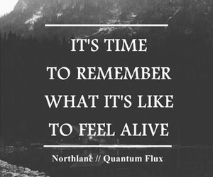alive, quote, and feelings image