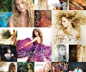 album art, enchanted, and love story image