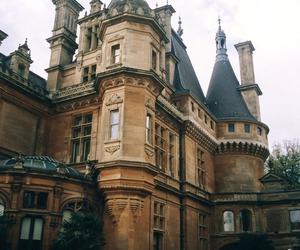 vintage, castle, and indie image