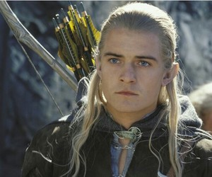 Legolas, orlando bloom, and the lord of the rings image