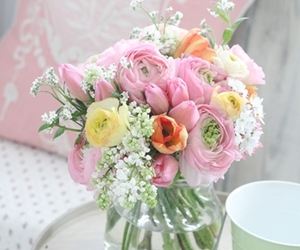 floral, flores, and flower image