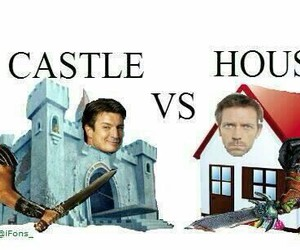 castle, funny, and series image