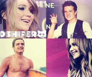 Jennifer Lawrence, josh hutcherson, and jlaw image