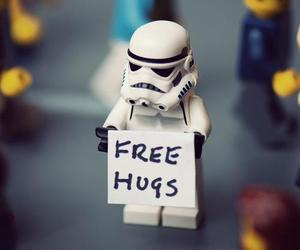 hug, star wars, and free image