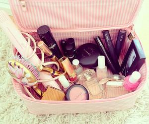 pink, makeup, and make up image