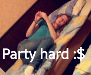 anna, party, and hard image