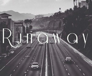 away, run, and city image