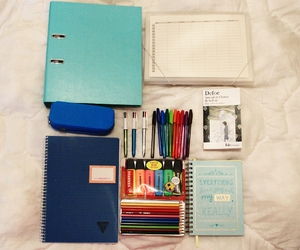 books, diaries, and files image