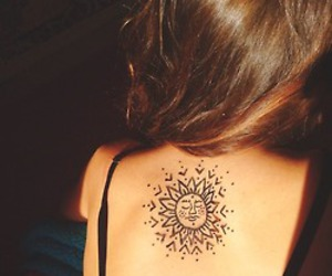 henna, hipster, and sun image