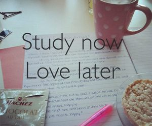 study, love, and school image