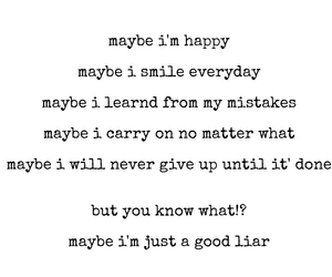 liar, maybe, and quote image