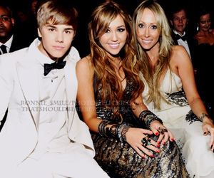 miley cyrus, jiley, and justin bieber image
